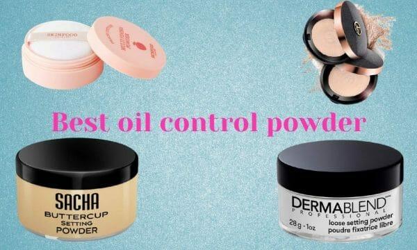 best oil control powder