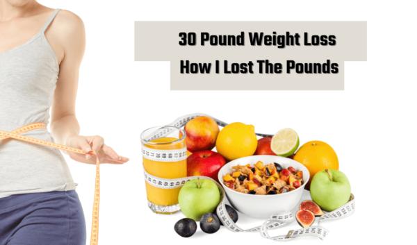 30 pound weight loss