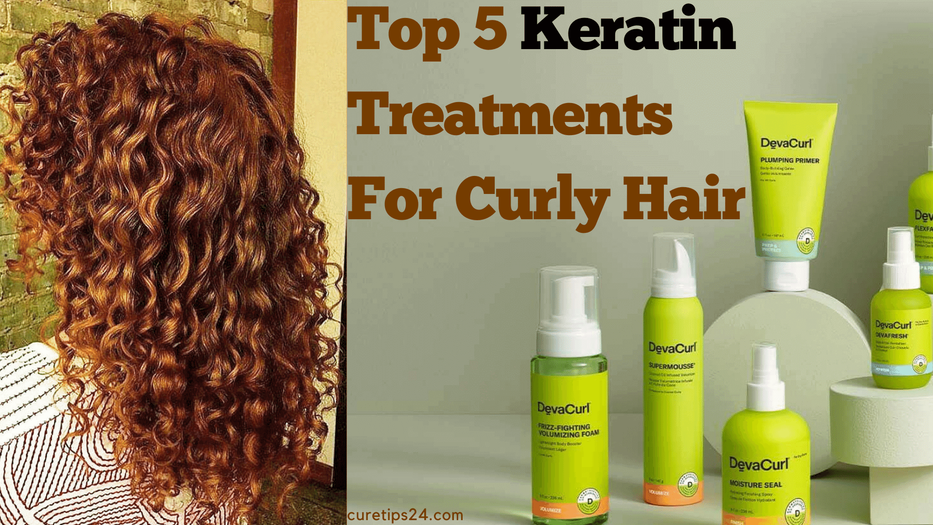 Top 5 Keratin Treatments For Curly Hair